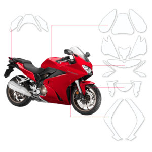 BLOQ Paint Protection Kit – HONDA VFR800F  2015-