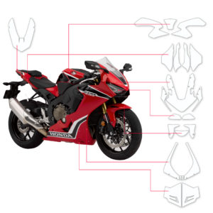 BLOQ Paint Protection Kit – HONDA CBR 1000RR SP1 Fireblade 2017-