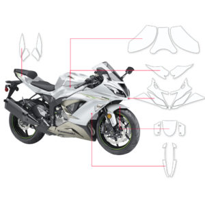 BLOQ Paint Protection Kit – KAWASAKI NINJA ZX-6R 636 2015-2018