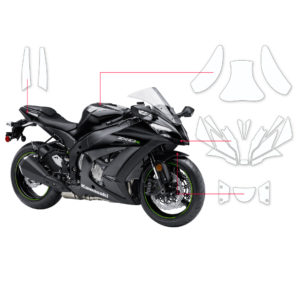 BLOQ Paint Protection Kit – KAWASAKI NINJA ZX-10R 2015-2015