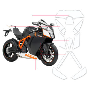 BLOQ Paint Protection Kit – KTM RC8 1190 2015-