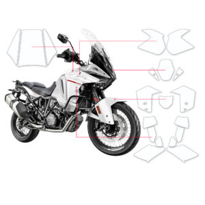 BLOQ Paint Protection Kit – KTM SUPER ADVENTURE  2015-