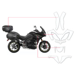 BLOQ Paint Protection Kit – TRIUMPH TIGER SPORT 2014-