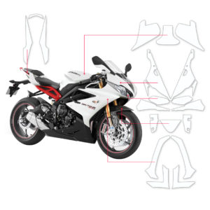 BLOQ Paint Protection Kit – TRIUMPH DAYTONA 675  2015-2017