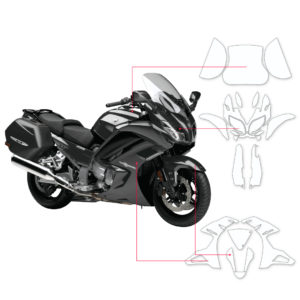 BLOQ Paint Protection Kit – YAMAHA FJR 1300 A 2014-