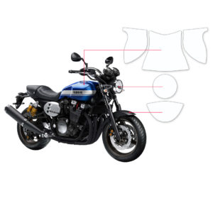 BLOQ Paint Protection Kit – YAMAHA XJR 1300 2015-