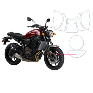 BLOQ Paint Protection Kit – YAMAHA XSR 700 2015-