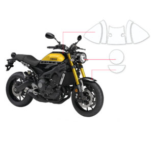 BLOQ Paint Protection Kit – YAMAHA XSR 900 2015-