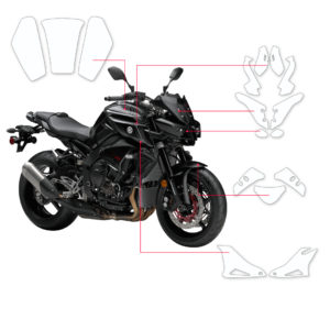 BLOQ Paint Protection Kit – YAMAHA MT10  2016-