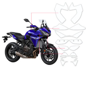 BLOQ Paint Protection Kit – YAMAHA MT07 Tracer 2017-