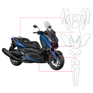 BLOQ Paint Protection Kit – YAMAHA X-Max 300 2017-