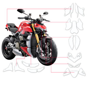 BLOQ Paint Protection Kit – DUCATI STREETFIGHTER V4, V4S 2020-