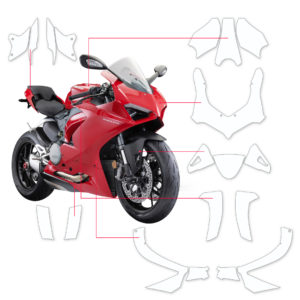 BLOQ Paint Protection Kit – DUCATI PANIGALE V2 2020-