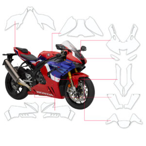 BLOQ Paint Protection Kit – HONDA CBR1000RR-R FIREBLADE 2020-