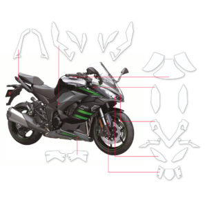 BLOQ Paint Protection Kit – KAWASAKI NINJA Z1000SX 2020-