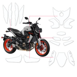 BLOQ Paint Protection Kit – YAMAHA MT-09  2020-