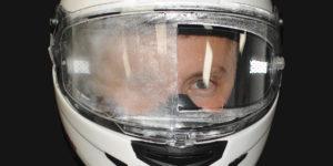 Anti Fog Helmet Visor Insert