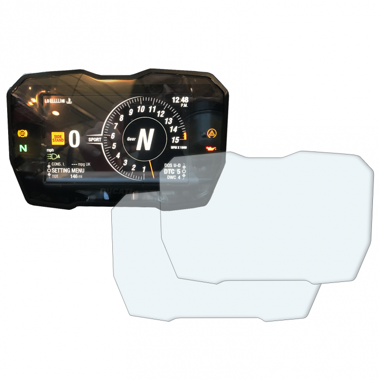 Ducati Panigale V4 dashboard screen protector