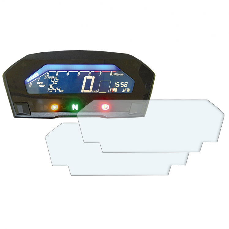 Honda NC750X dashboard screen protector