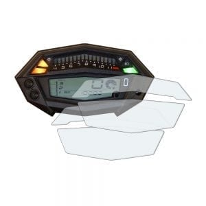Kawasaki Z1000 dashboard screen protector