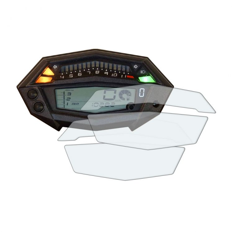 Kawasaki Z1000 dashboard screen protector