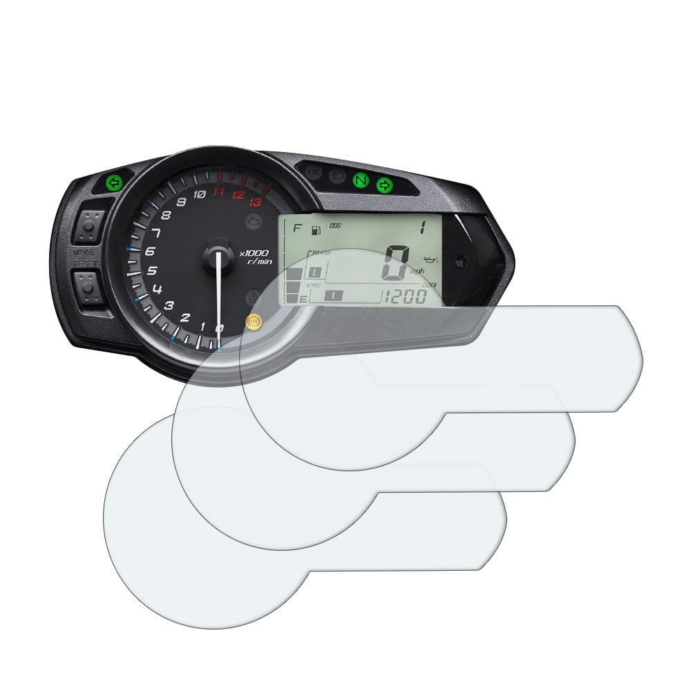 Ultra-Clear 2 x Kawasaki ZX-6R 636 Ninja 2009 Dashboard Screen Protector