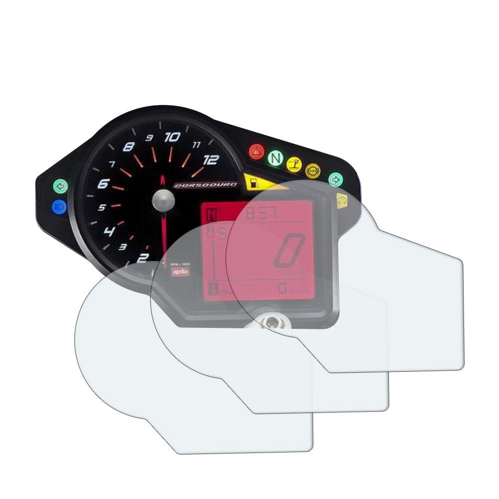Ultra Clear Dashboard Screen Protectors 2 x Kawasaki H2 SX SE 2018
