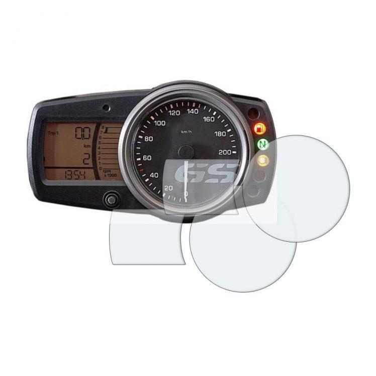 BMW G650GS dashboard screen protector