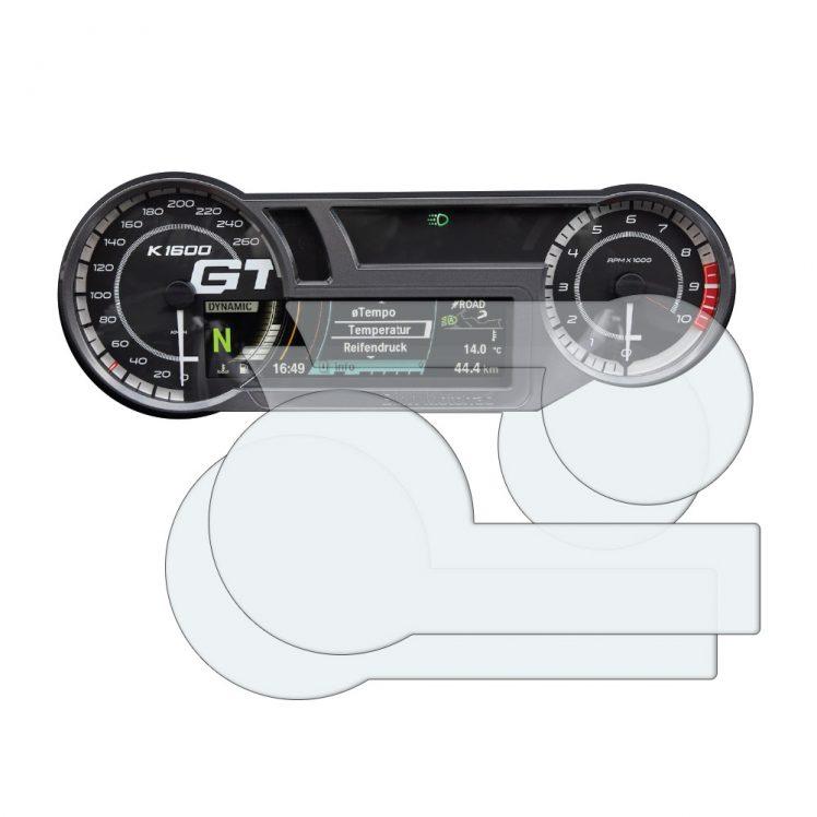BMW K1600 dashboard screen protector