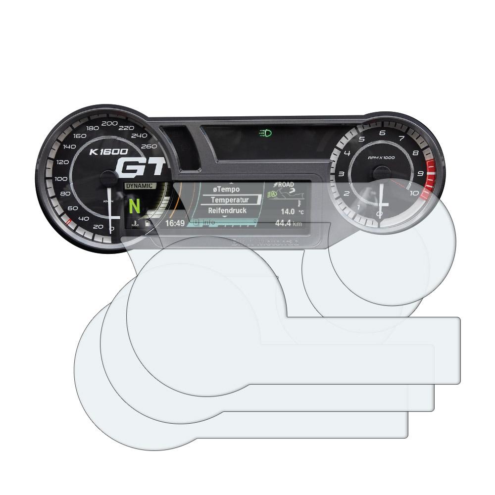 1 x Ultra Clear /& 1 x Anti Glare Screen Protectors BMW R Nine T Racer 2017