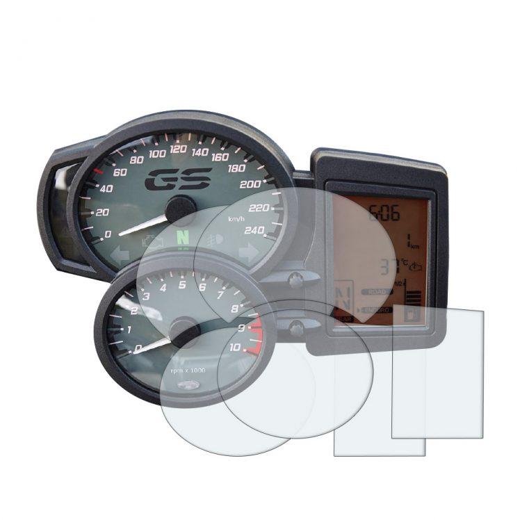 BMW F800 dashboard screen protector
