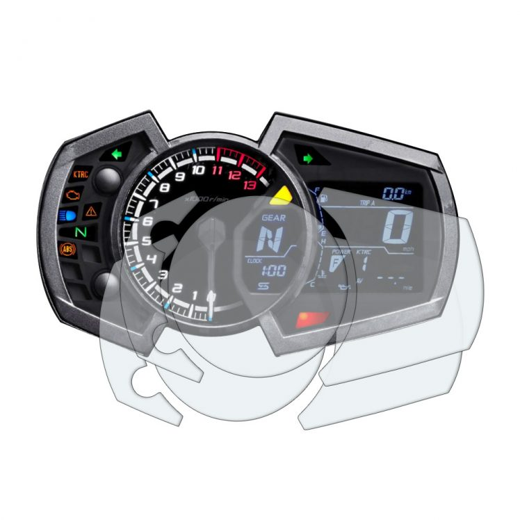 Kawasaki Ninja 250/400/650 2017+ Dashboard screen protectors