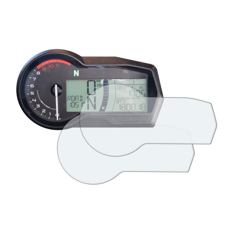 BMW F750GS dashboard screen protector