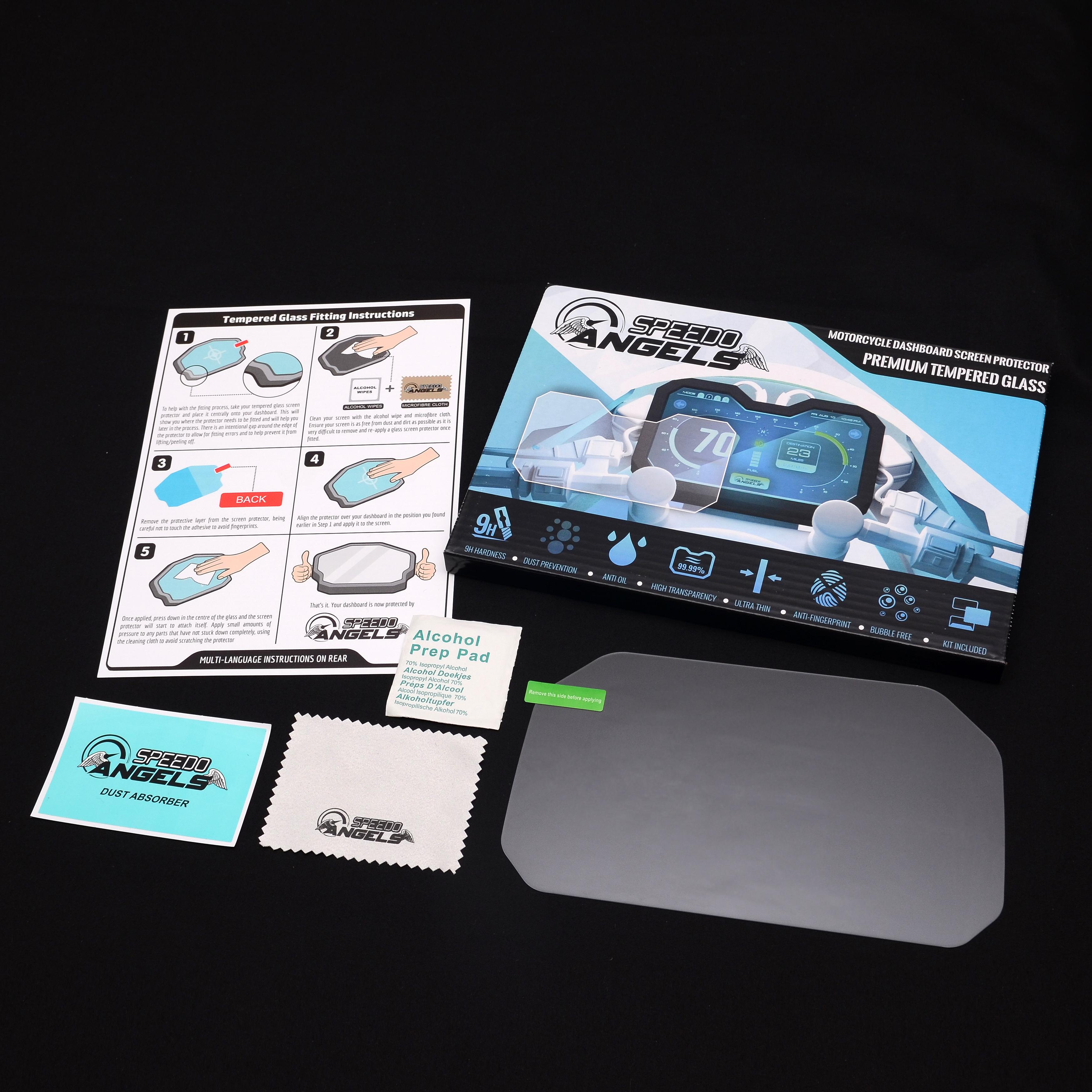 Speedo Angels NANO GLASS Cruscotto Proteggi Schermo per F900XR 2020+ x 2