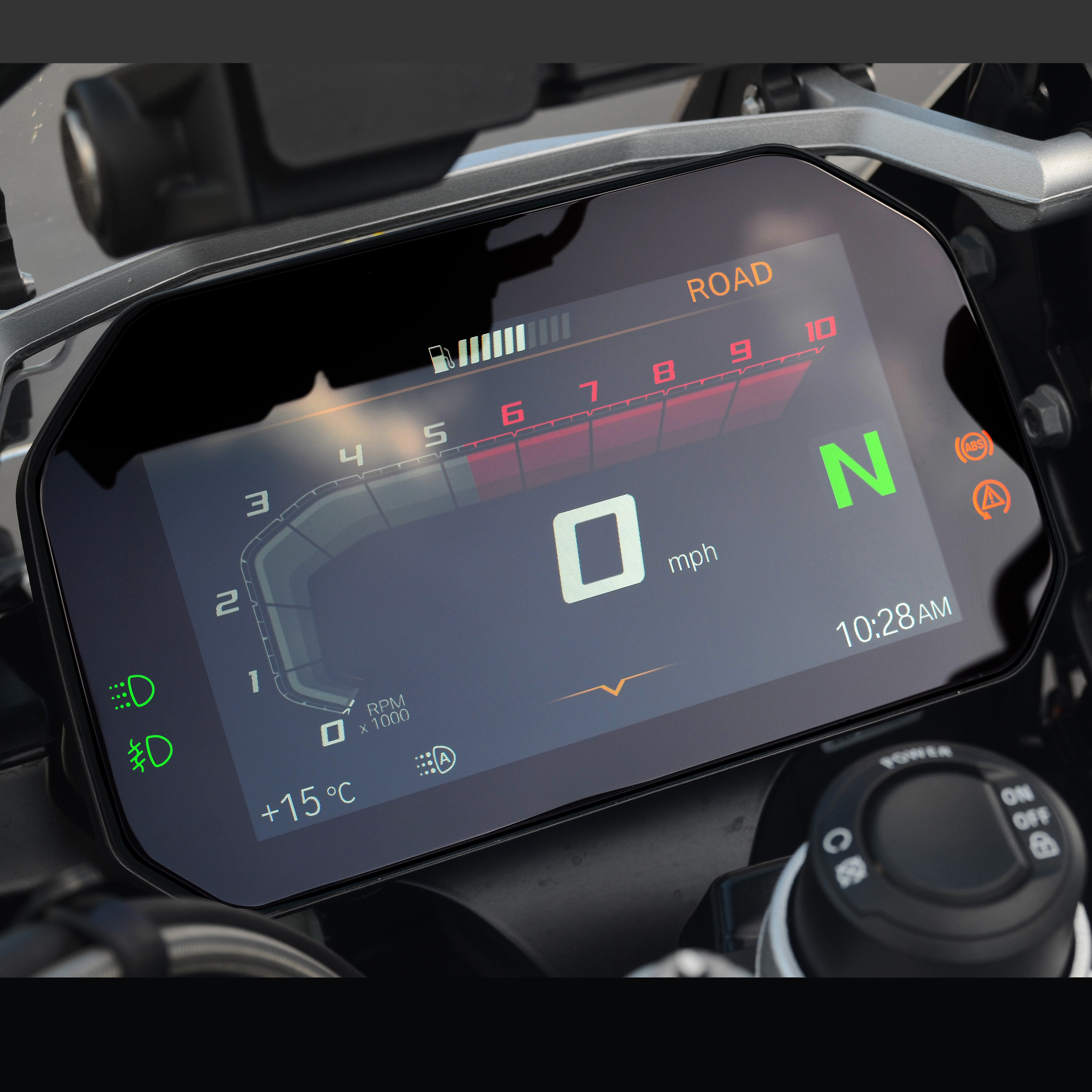 2 x BMW F850GS 2018 Ultra-Clear Connectivity TFT Dashboard Screen Protector