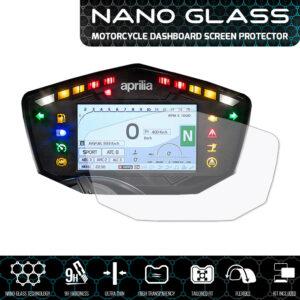 Aprilia Dorsoduro / Shiver / RSV4 / Tuono 2017+ / Moto Guzzi V7 TT NANO GLASS Screen Protector