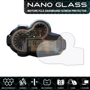 BMW R1200GS 2013+ NANO GLASS Dashboard Screen Protector