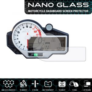 BMW S 1000R/RR/XR 2015+ NANO GLASS Dashboard Screen Protector