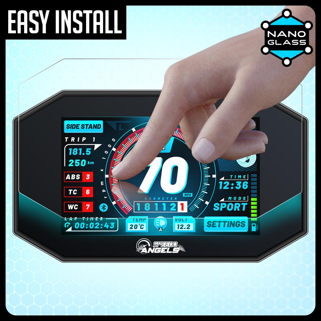 2015+ Speedo Angels Dashboard Screen Protector for YAMAHA XSR700 2 x Ultra Clear XSR900