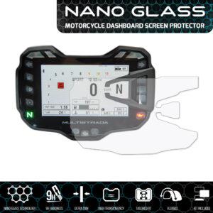 Ducati Multistrada 950 / 1200 / 1260 2015+ NANO GLASS Dashboard Screen Protector