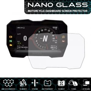 Ducati Panigale V4 2018+ NANO GLASS Dashboard Screen Protector