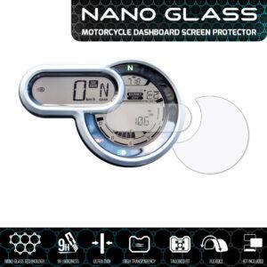 Ducati Scrambler 1100 2018+ NANO GLASS Dashboard Screen Protector