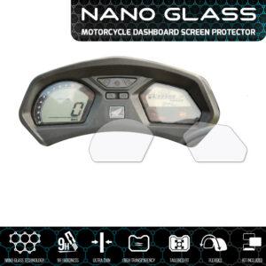 Honda CB650F / CBR650F 2017+ NANO GLASS Dashboard Screen Protector