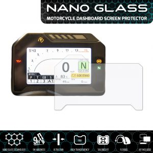 Honda CBR1000RR Fireblade 2017+ NANO GLASS Dashboard Screen Protector