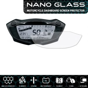 Suzuki GSX-S750 (2017+) / GSX-S1000 (2016+) / SV650 (2016+) NANO GLASS Screen Protector