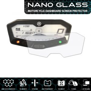 YAMAHA MT-07 / FZ-07 / 700 Tracer NANO GLASS Dashboard Screen Protector