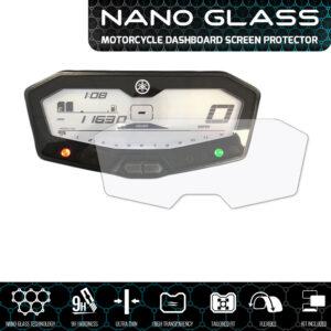 YAMAHA MT-07 / FZ-07 / 700 Tracer NANO GLASS Dashboard Screen Protector