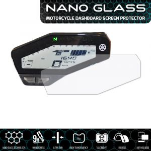 YAMAHA MT-09 / FZ-09 2013+ NANO GLASS Dashboard Screen Protector