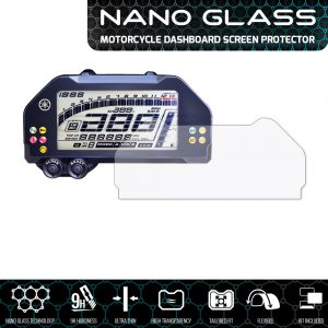 YAMAHA MT-10 / FZ-10 / Niken (GT) NANO GLASS Dashboard Screen Protector