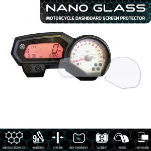 YAMAHA FZ1 / FZ6 (S2) / FZ8 Fazer / XJ6 Diversion NANO GLASS Screen Protector